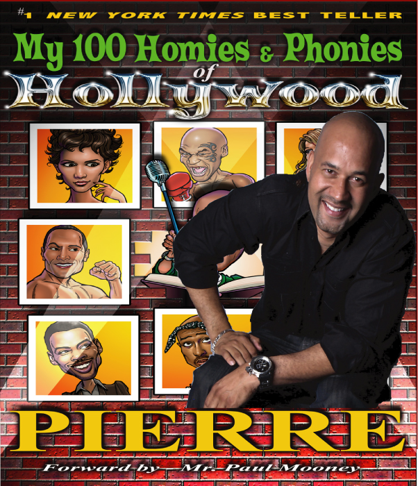 Pierre Edwards NY Times best Teller My 100 Homies and Phonies