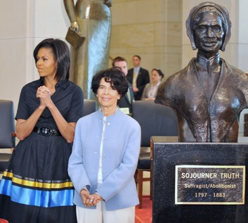 Unveiling of Sojourner Truth at U.S. Capitol